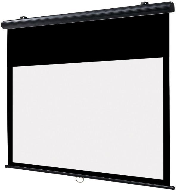 Black-line 150 x 84,5 cm manuel betjening med soft oprul