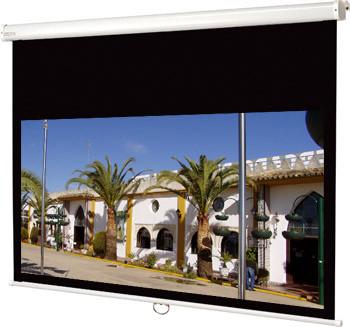 150 x 84,50 cm manual betjening widescreen format
