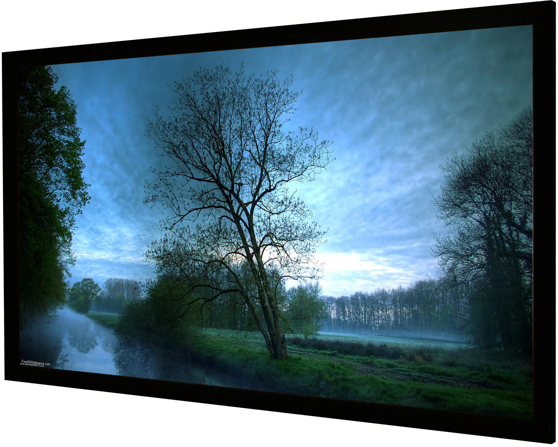 Frame Vision Light 180 x 101 cm widescreen og Veltex