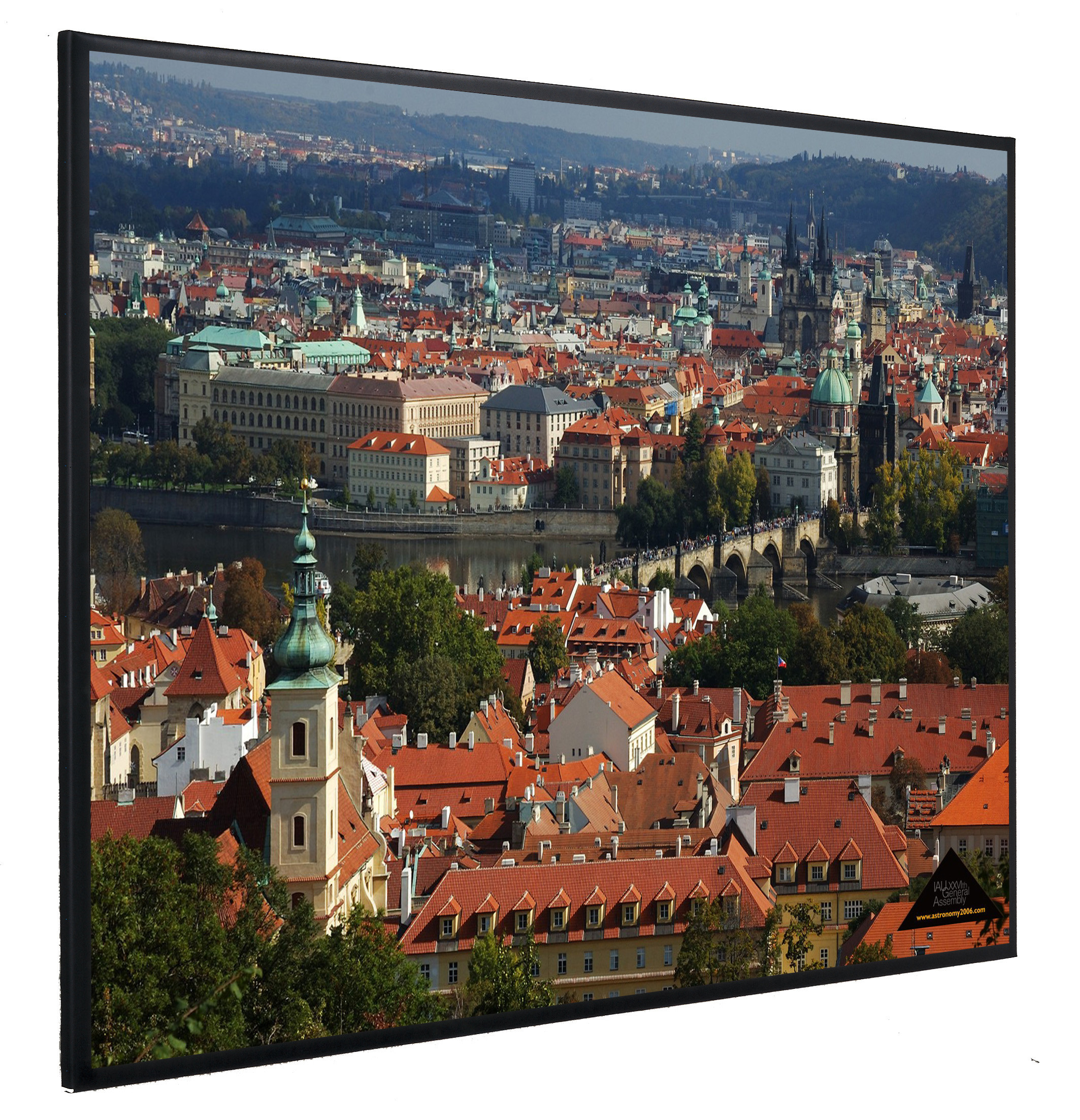 Vision Light 200 x 150 cm video format og Veltex ramme
