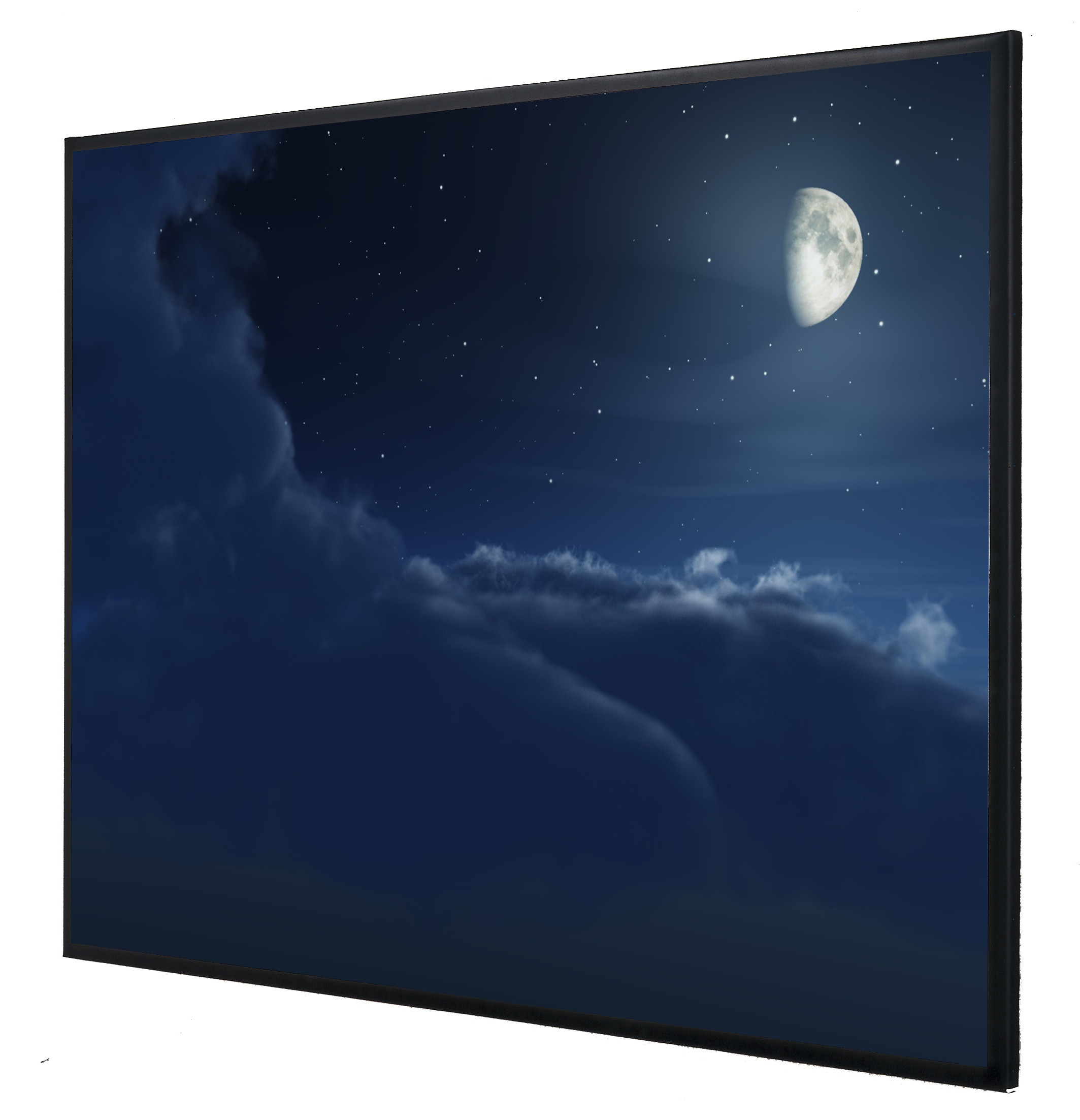 Vision Light 220 x 165 cm video format med ReAct filmdug