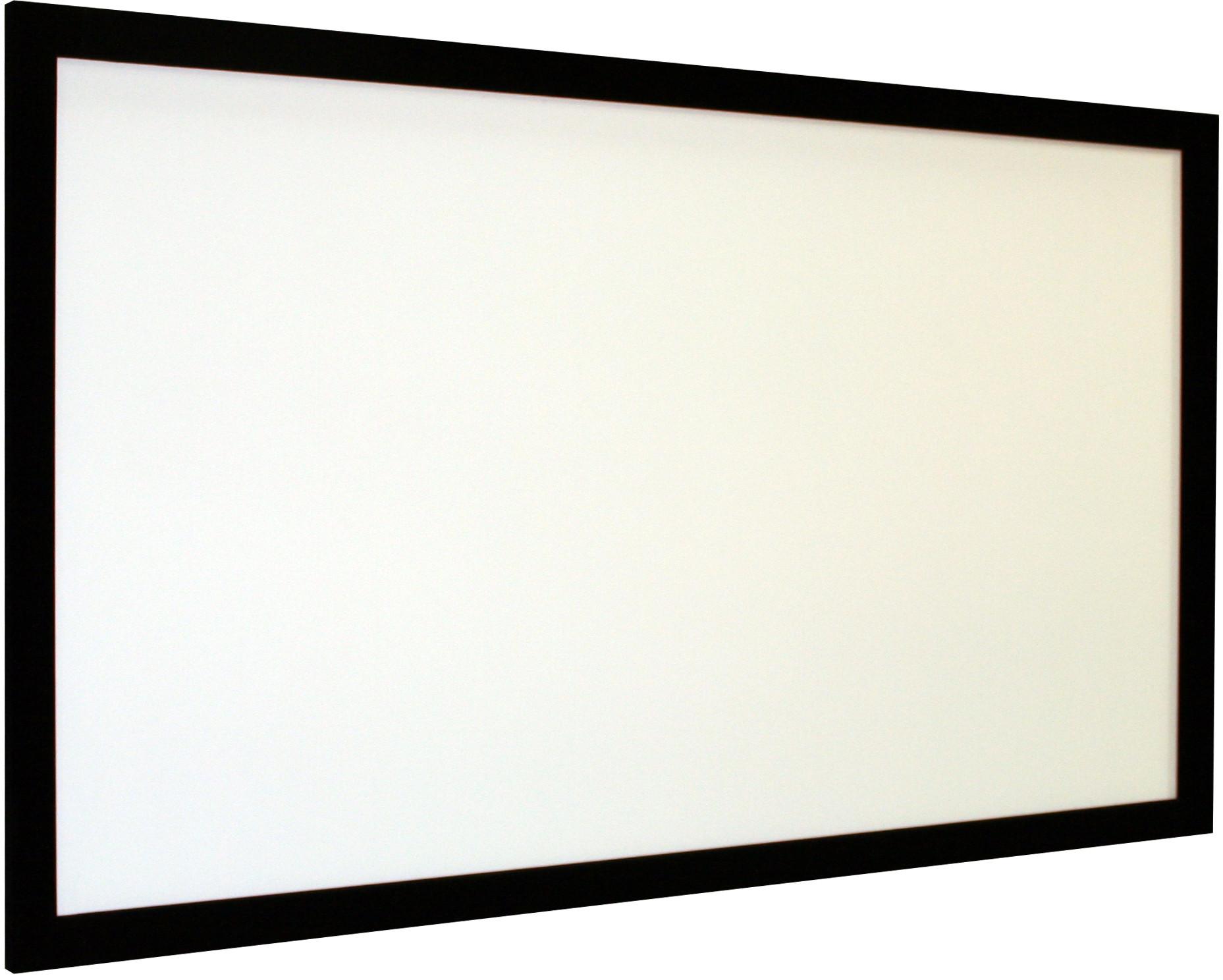 Vision Light 220 x 137,5 cm data format og Veltex ramme