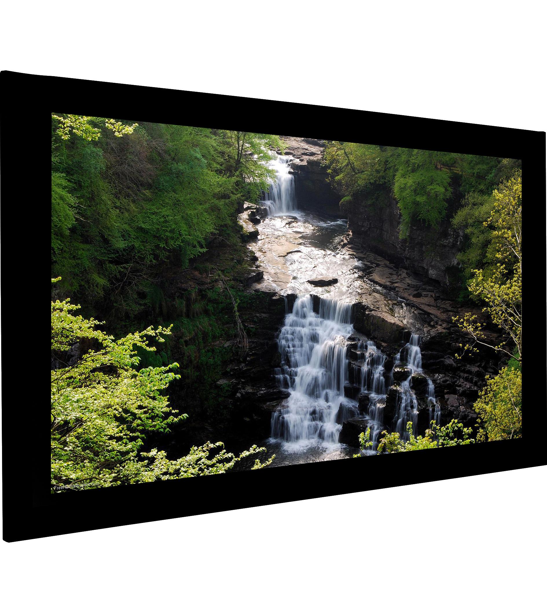 Frame Vision 220 x 123 cm med Flex White og Veltex