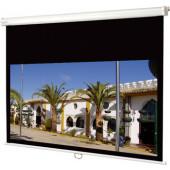 Connect 180 x 165 cm med motor og installationskabel i widescreen format