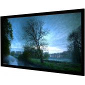 Vision Light 230 x 98 cm CinemaScope og Veltex ramme