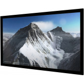 Vision Light 190 x 107 cm widescreen perforeret med Veltex ramme